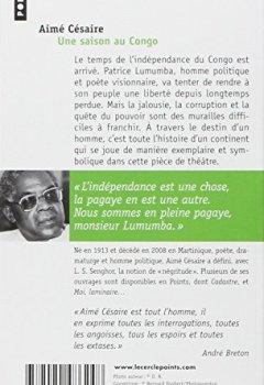 Livres Couvertures de Une saison au Congo