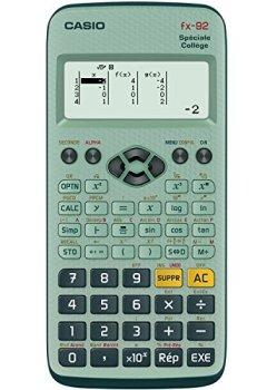 Livres Couvertures de Casio Fx 92 Calculatrice scientifique Spéciale Collège