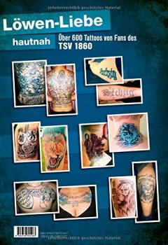 Buchdeckel von 1860 München Tattoobuch: Eine Liebe, die unter die Haut geht