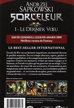 Livres Couvertures de Sorceleur, Tome 1: Le Dernier Vœu