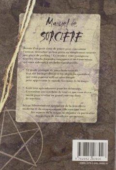 Livres Couvertures de Manuel de sorcière
