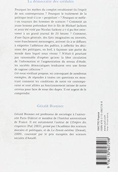 Livres Couvertures de La démocratie des crédules