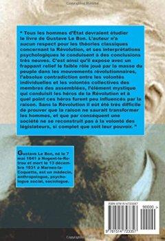 Livres Couvertures de La Révolution française et la psychologie des révolutions