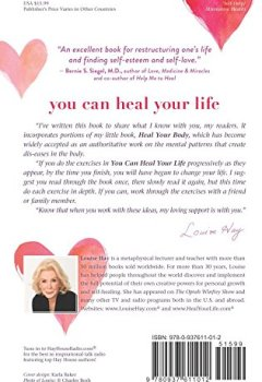 Livres Couvertures de You Can Heal Your Life
