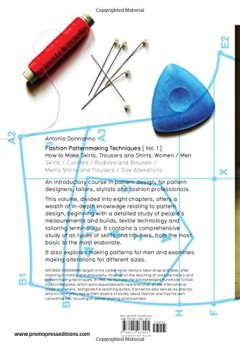 Livres Couvertures de Fashion patternmaking techniques - tome 1 (01)