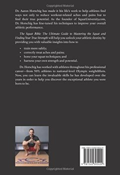 Livres Couvertures de The Squat Bible: The Ultimate Guide to Mastering the Squat and Finding Your True Strength