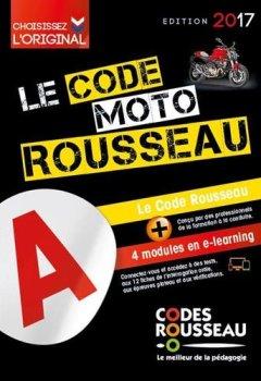 Livres Couvertures de Code Rousseau moto 2017