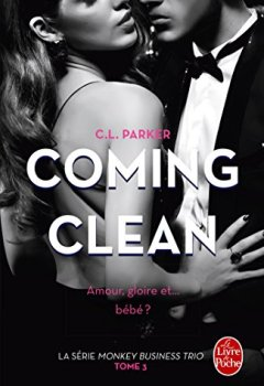 Livres Couvertures de Coming Clean (The Monkey Business, Tome 3)