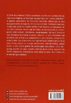 Portada del libro deEl Cafè De La Marina (+ Recurs Digital) (Educació 62)