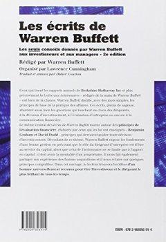 Livres Couvertures de Les écrits de Warren Buffett : Les seuls conseils donnés par Warren Buffett aux investisseurs et aux managers