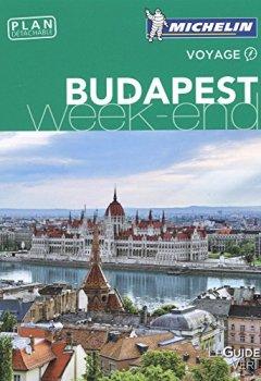 Livres Couvertures de Guide Vert Week-End Budapest Michelin