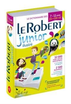 Livres Couvertures de Dictionnaire Le Robert Junior Illustré CE/CM/6e 7-11 ans