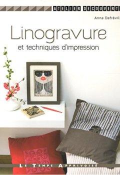 Livres Couvertures de Linogravure et techniques d'impression