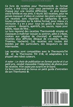 Livres Couvertures de Thermomix ® :  365 recettes Thermomix faciles, rapides, pour toutes les occasions