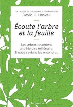 Livres Couvertures de Écoute l'arbre et la feuille