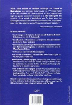 Livres Couvertures de Nostradamus Premier Decodage Date - le Cataclysme Annonce, les Annees 2209 a 2218
