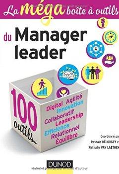 Livres Couvertures de La MEGA boîte à outils du manager leader - 100 outils