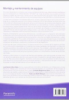 Portada del libro deMontaje y mantenimiento de equipos 2.ª edición