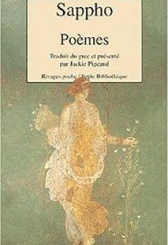 Livres Couvertures de Poèmes : Edition bilingue français-grec ancien