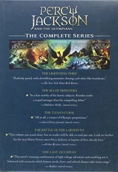 Livres Couvertures de Percy Jackson and the Olympians 5 Book Paperback Boxed Set (new covers w/poster)