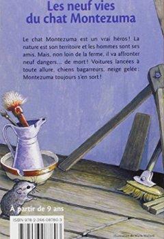 Livres Couvertures de Les Neuf Vies du chat Montezuma