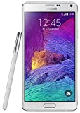 Samsung Galaxy Note 4 Smartphone (5,7 Zoll (14,5 cm) Touch-Display, 32 GB Speicher, Android 4.4) weiß