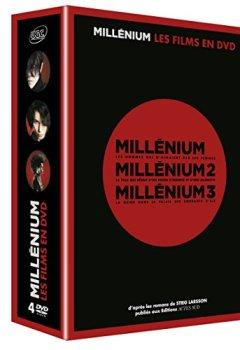 Livres Couvertures de Millénium, le film - Trilogie