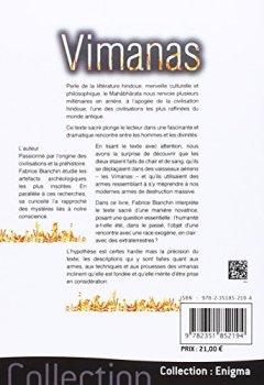 Livres Couvertures de Vimanas - L'incroyable technologie des dieux