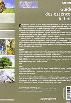 Livres Couvertures de Guide des essences de bois : 84 essences : comment les reconnaître, les choisir et les employer