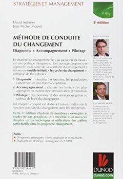 Livres Couvertures de Méthode de conduite du changement - 3e éd. - Diagnostic - Accompagnement - Pilotage
