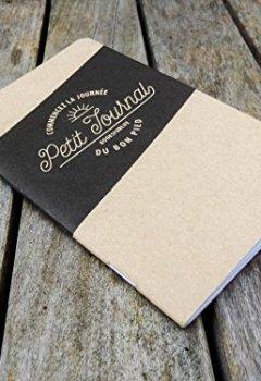 Livres Couvertures de Carnet de gratitude en 5 minutes par jour - Petit Journal de gratitude de poche - Fabriqué en France