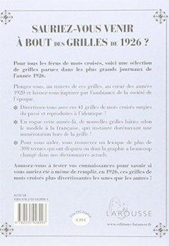 Livres Couvertures de Sauriez-vous venir à bout des grilles de 1926 ?