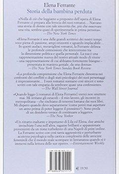 Livres Couvertures de Storia Della Bambina Perduta L'amica Gen