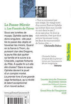 Livres Couvertures de La Passe-miroir (Tome 1-Les Fiancés de l'hiver)