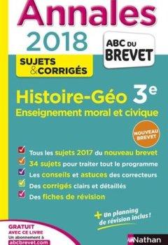 Livres Couvertures de Annales ABC du Brevet Histoire-Géographie-EMC 2018