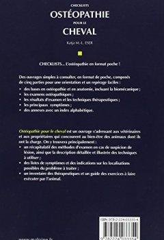 Livres Couvertures de Ostéopathie pour le cheval