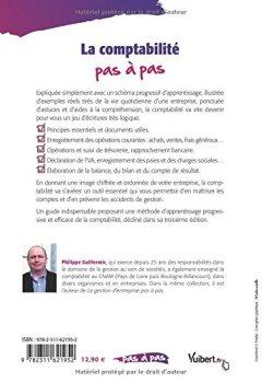 Livres Couvertures de La comptabilité pas à pas - Édition 2017-2018
