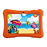 KingPad K77 7'' Quad Core Tablet PC, Google Android 4.4.4 KitKat, 8GB Nand Flash, Dual Camera, Touch Screen, 1024x600 HD Resolution, Bluetooth, Netflix, Skype, 3D Game Supported (2015 New Model)