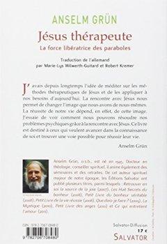Livres Couvertures de Jésus thérapeute : La force libératrice des paraboles