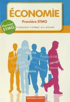 Livres Couvertures de Horizon 1re STMG Economie