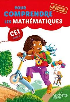 Livres Couvertures de Pour comprendre les mathématiques CE1 - Fichier élève - Ed. 2016