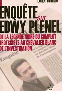 Livres Couvertures de Enquête sur Edwy Plenel