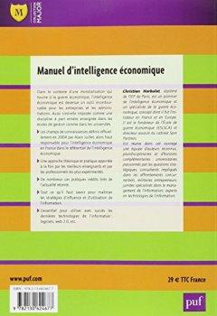 Livres Couvertures de Manuel d'intelligence économique