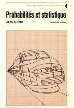 Livres Couvertures de Probabilités et statistique, 4e édition