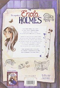 Livres Couvertures de Enola Holmes T1 : double disparition