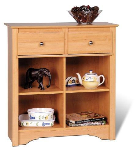 Image of Prepac Sonoma Maple Buffet / Console Table (MSB-3336)