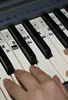 Livres Couvertures de Autocollants de Note de Musique de Piano de clavier Solfège Transparent