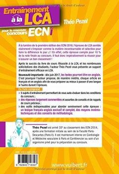 Livres Couvertures de Entraînement à la LCA pour le nouveau concours ECNi