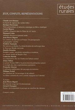 Livres Couvertures de Etudes rurales 157-158 Jeux conflits représentations