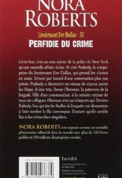 Livres Couvertures de Lieutenant Eve Dallas, Tome 32 : Perfidie du crime